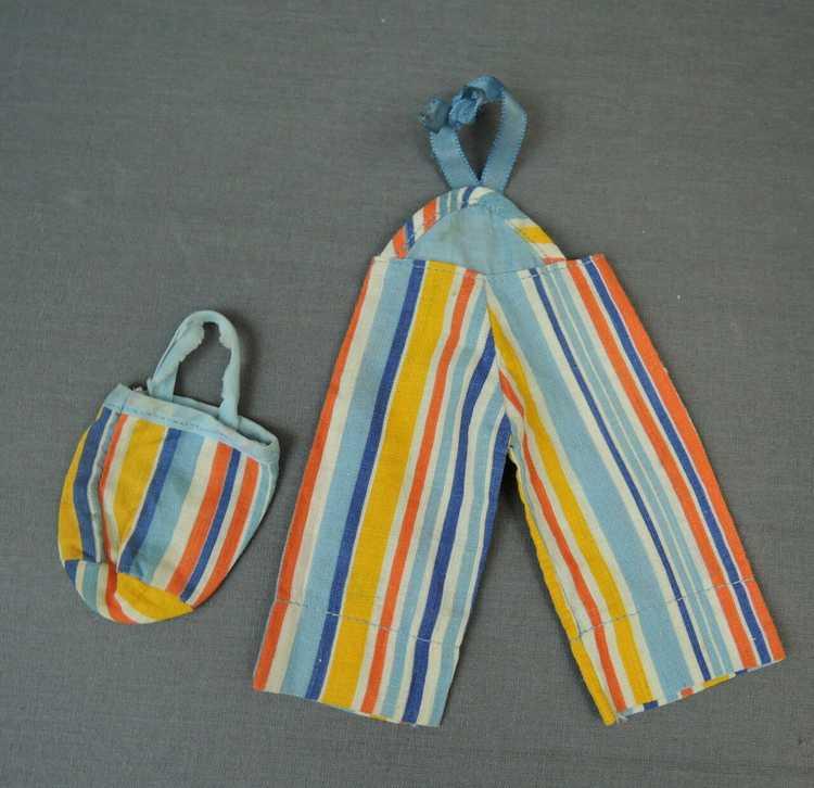 Vintage Doll Beach Pajamas & Purse and Romper, 19… - image 3