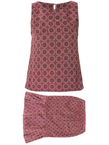Chanel Pre-Owned geometric print two-piece set - P