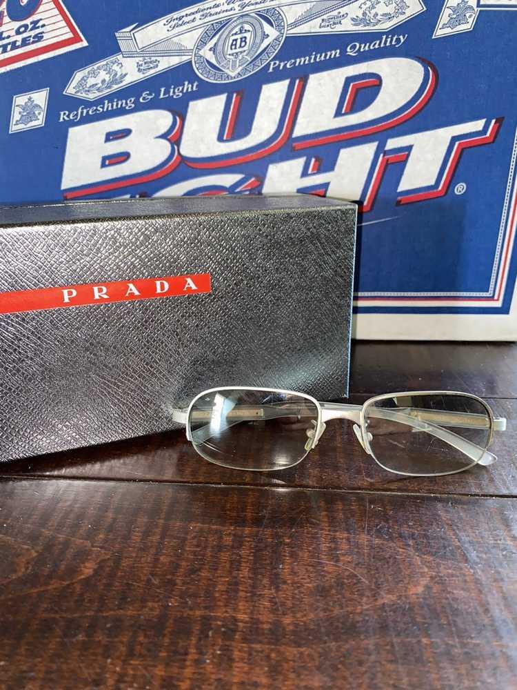 Prada × Vintage Vintage 1990's Prada sunglasses - image 2