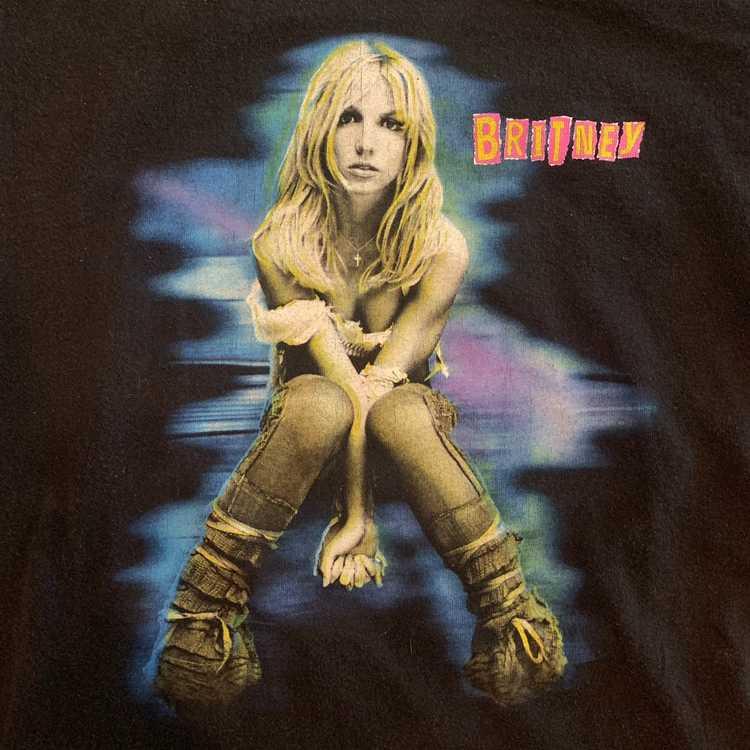 2001 Briney Spears BRITNEY Tour Tshirt sz S - image 2