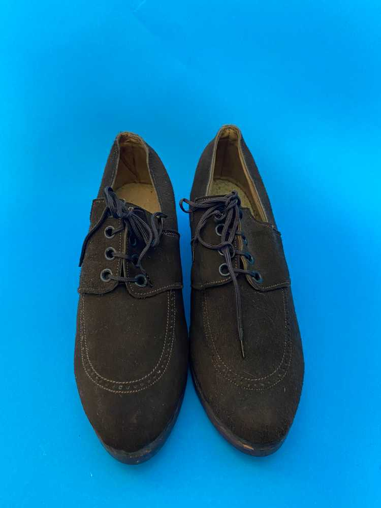 Deadstock 1940s shoes, french - image 3