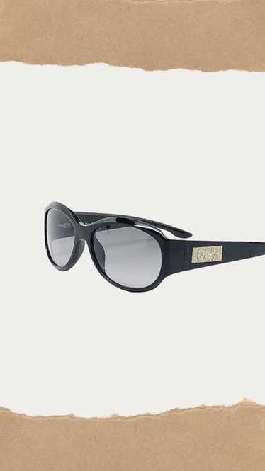 Black Rhinestone Sunglasses
