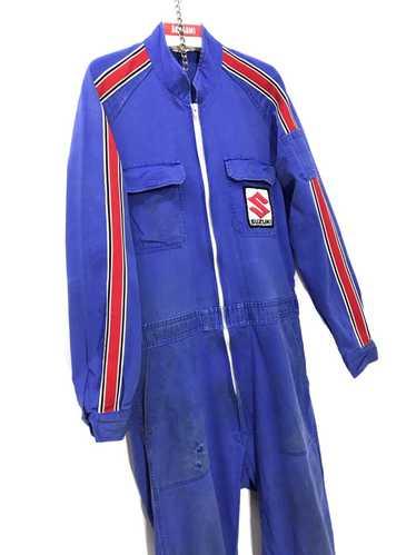 Unworn XXXL Vintage French Garage Overalls  Boiler Suit