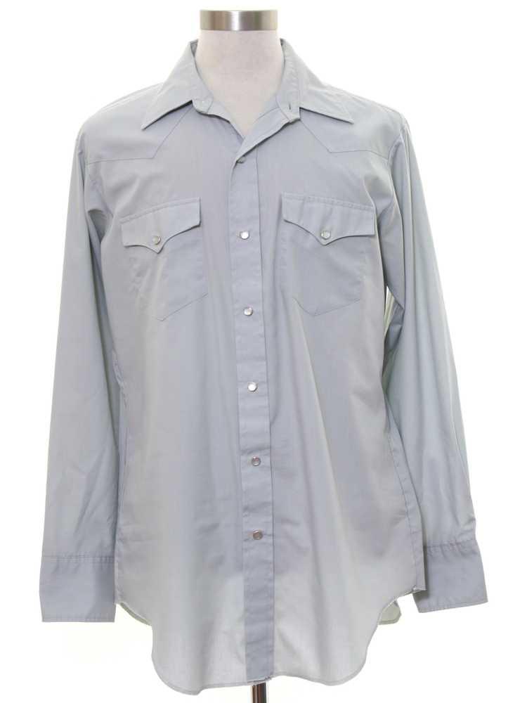 1980's H Bar C Mens Western Shirt - image 1