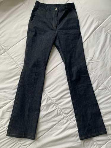 Bottega Veneta Ss19 bottega veneta flare jeans