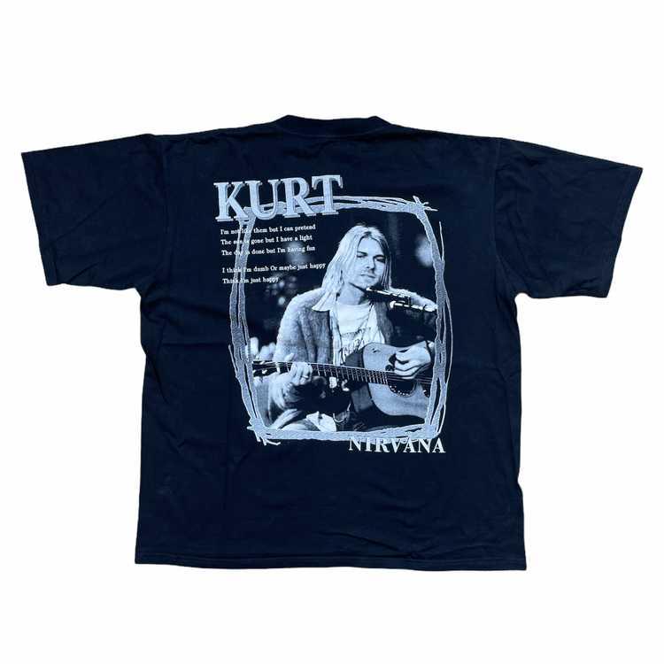 Vintage 2000s Kurt Cobain Nirvana T-shirt - image 2