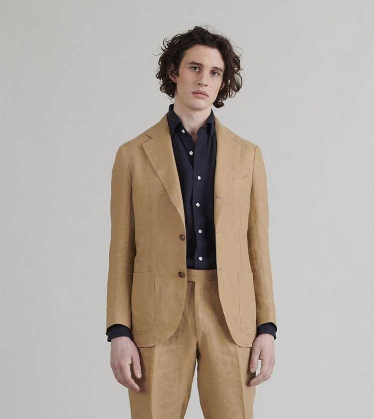 Drakes Drakes Linen Suit - image 9
