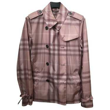 Burberry Pink Trench coat for Women 42 IT