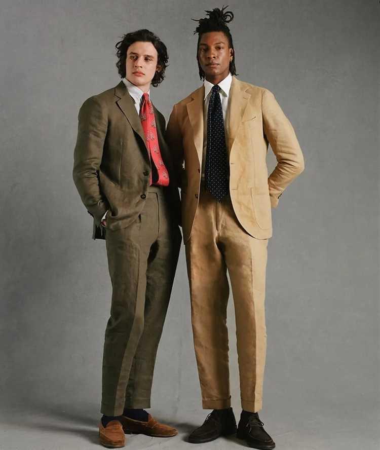 Drakes Drakes Linen Suit - image 10