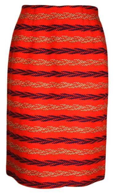 Novelty Knit Wiggle Skirt