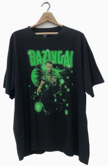 Movie × Streetwear Bazinga The Big Bang Theory T-S