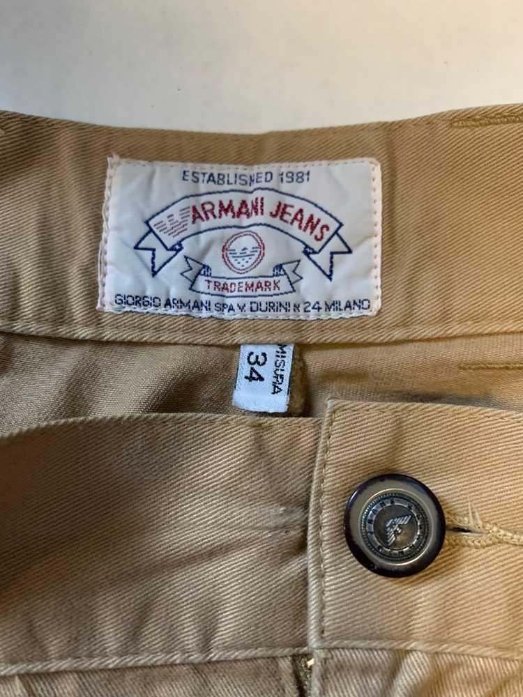 Armani Armani khaki Chino pants - image 5