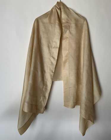 Pongee Silk Scarf