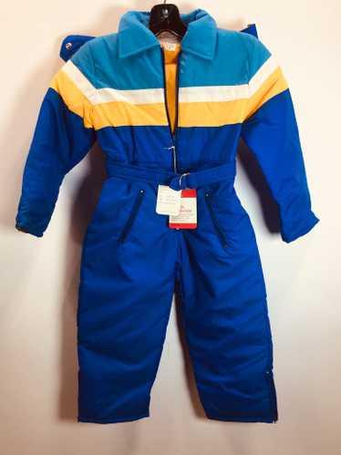 70's Kid's ski Jumpsuits