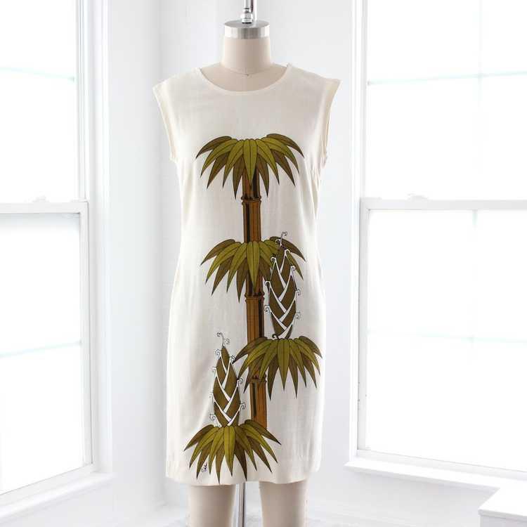 70s Shaheen Shift Dress - image 1