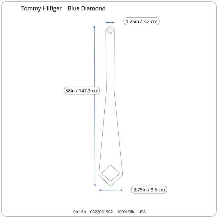 Tommy Hilfiger Tommy Hilfiger Blue Black Geometri… - image 10