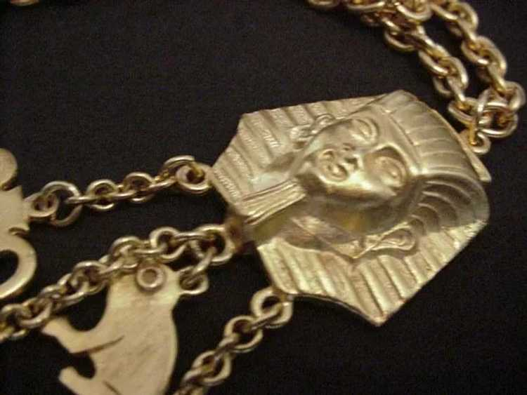 Egyptian Revival Necklace - image 3