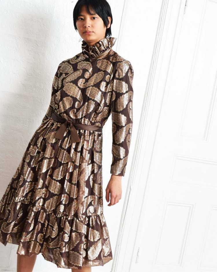 Vintage Ceil Chapman Paisley Dress - image 1