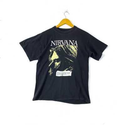 MEGA RARE 90\u2019s Nirvana Italian hoodie Kurt Cobain Fear Of God Metallica Brockum Rap