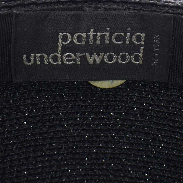 Vintage Patricia Underwood Black and White Woven … - image 9